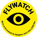 Flywatch Lampost Sign