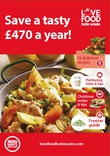 Love Food Hate Waste Recipe Pack Folder: 'Save a tasty £470 a year'