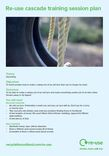 Re-use session guide; UPCYCLING - Make a tyre swing