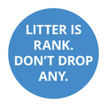 Smoking Related Litter - Taxi Rank Poster