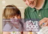 Love Food Hate Waste Brand Guidelines Scotland