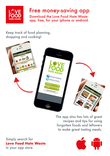 Love Food Hate Waste App Poster