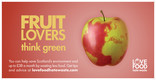 Love Food Hate Waste 'Fruit Lovers Scotland' - Advert