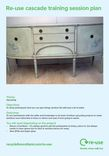 Re-use session guide; UPCYCLING - Furniture upcycling