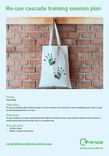 Re-use session guide; UPCYCLING - Canvas bag