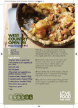 Love Food Hate Waste - Recipe, West Country Open Pie