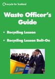 Recycling lesson waste officers guide