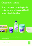 RFS Communication toolkit: Plastic pots, tubs and trays A3 poster