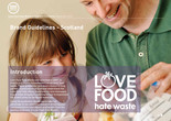 Love Food Hate Waste - Brand Guidelines (Scotland)
