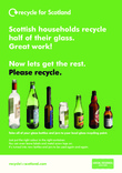 RFS Communication Toolkit: Colour-separated Glass Recycling Collections Recycling Point Poster
