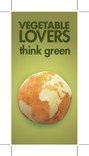Love Food Hate Waste 'Vegetable Lovers Scotland' - Web Advert