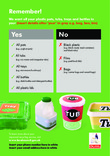RFS Communication Toolkit: Plastic pots, tubs and trays A5 leaflet