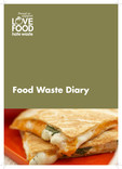 Love Food Hate Waste - Weekly Food Waste Diary