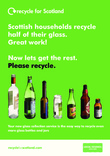 RFS Communication Toolkit: Colour-separated Glass Recycling Collections A4 Kerbside Poster