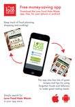 Love Food Hate Waste - App Poster
