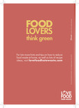 Love Food Hate Waste - Food Lovers Leaflet