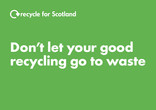 Recycle for Scotland local authority contamination digital advert