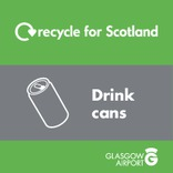 Recycle for Scotland Recycle on the Go drinks can core material stream icon