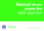 National re-use phone line brand guidelines