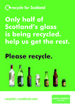 RFS Communication Toolkit: Colour-separated Glass Recycling Collections A5 Kerbside leaflet