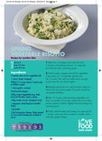 Love Food Hate Waste - Recipe, Spring Veg Risotto