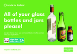 RFS Communication Toolkit: Colour-separated Glass Recycling Collections Kerbside bin sticker