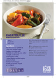 Love Food Hate Waste - Recipe, Ratatouille